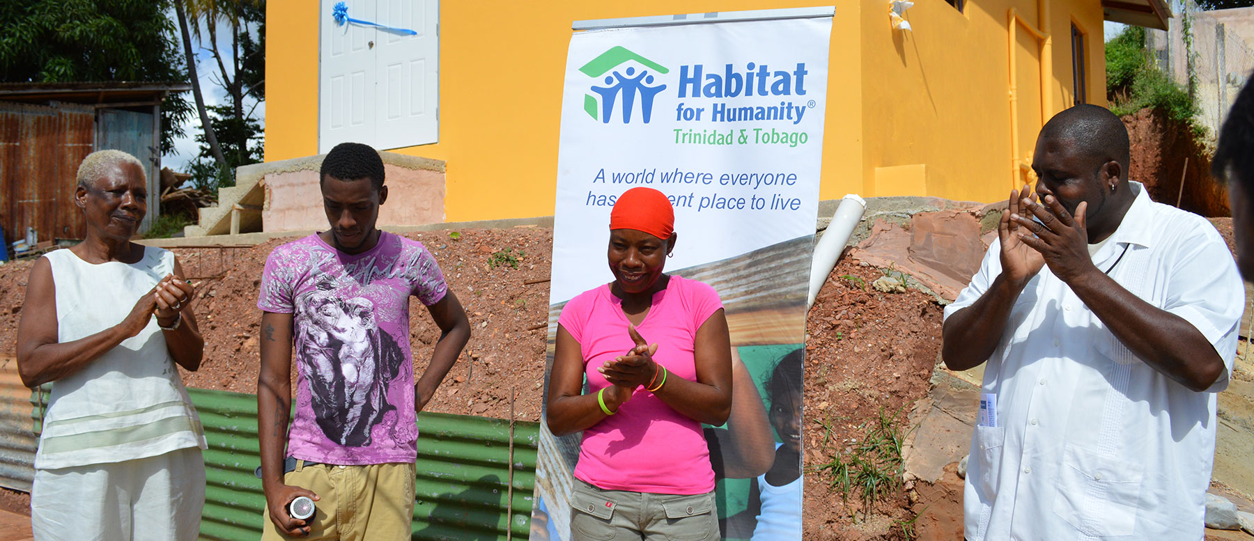 Homeowners And Communities Habitat For Humanity Trinidad Tobago
