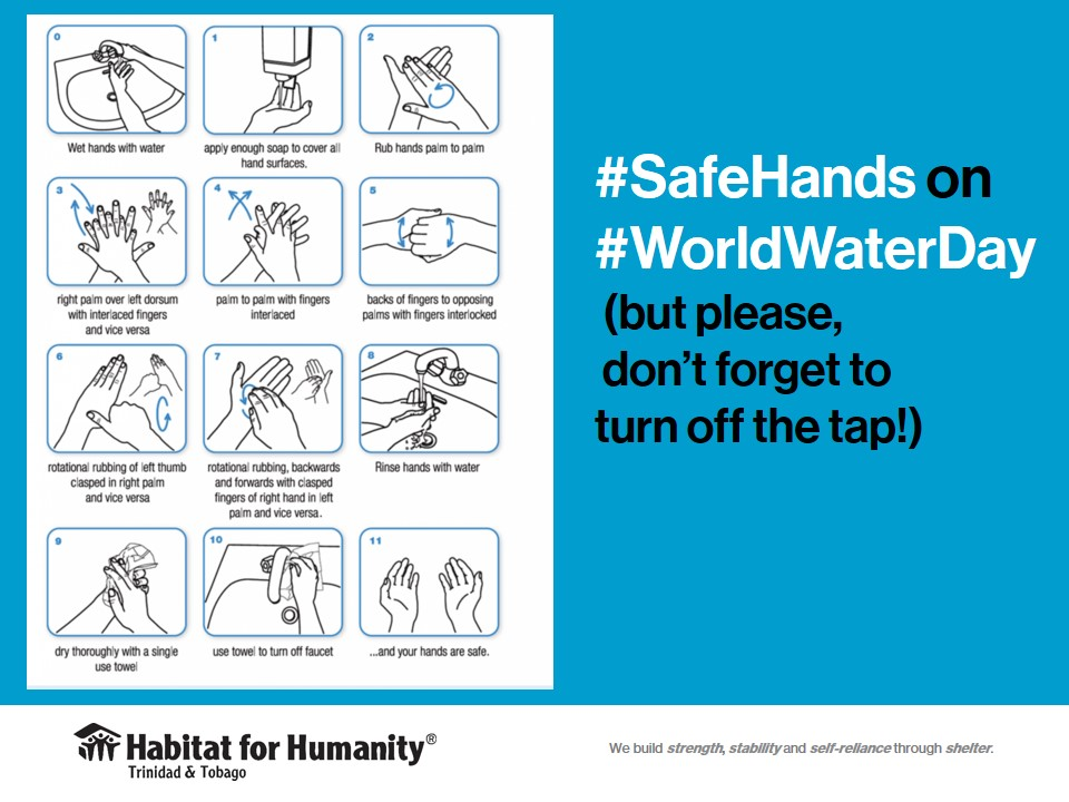 WHO Guidelines on handwashing for World Water Day